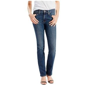 Levi's Slimming Straight Jeans Blue size 31
